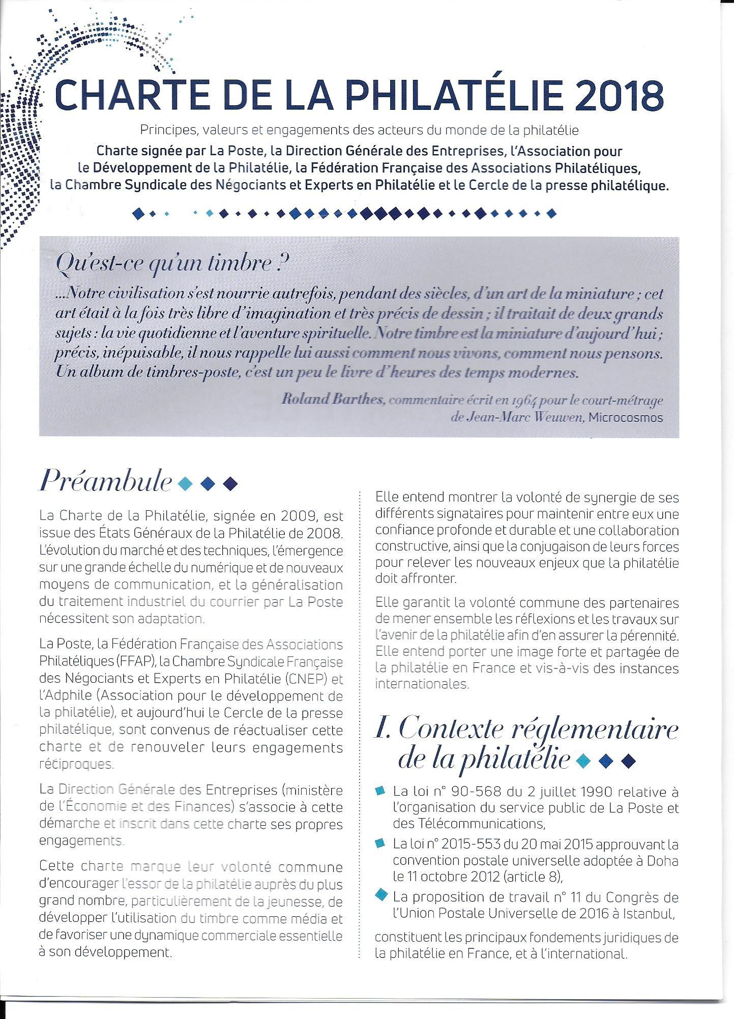 charte 2018- 2